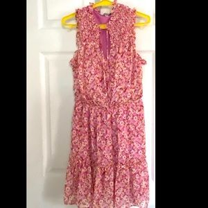 Boho Gypsies & Moondust Sheer Smocked Dress MED